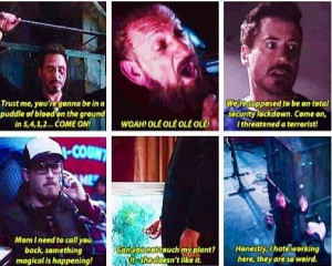 Iron Man 3 Funny Quotes the last one's my favorite