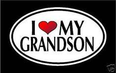 from ebay 5 75 i love my grandson vinyl decal sticker child
