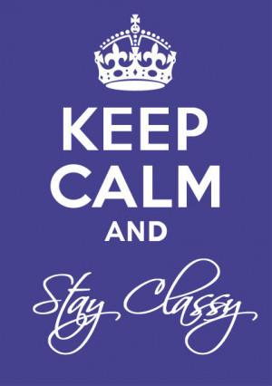 Keep it classy Socializocity readers!