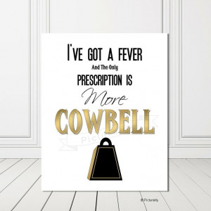 Humor Quote SNL Will Ferrell Quote 8x10 Print Gold by Picturality, $16 ...