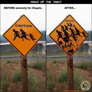 Amnesty for 20 million illegal aliens