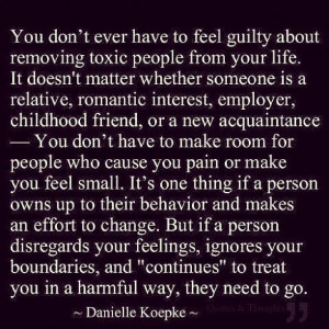 toxic people, even family
