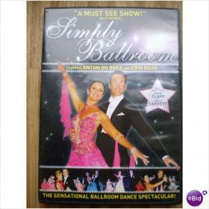Simply Ballroom dvd Anton du Beke & strictly come dancing stars ...