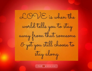 OnlineDating365 #InspirationalQuote on #Love from #FabQuotes # ...