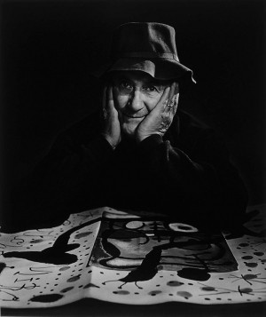Yousuf Karsh: Joan Miró, 1965Although he painted his inner fantasies ...