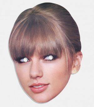 Swift Mask - Realistic Celebrity Face Mask Taylor Swift, Faces Masks ...