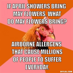 If April showers bring may flowers, what do may flowers bring ...