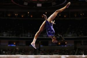 ... Gymnastics Team Trials at HP Pavilion on July 1, 2012 in San Jose