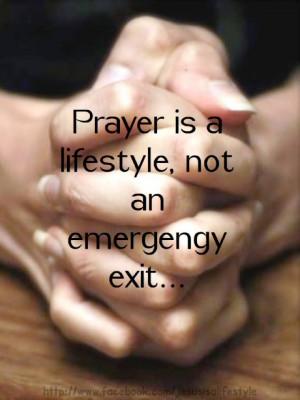 Prayer is a lifestyle. #christovereverything god christ hope love ...