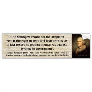 thomas_jefferson_2nd_amendment_quote_01_bumper_sticker ...