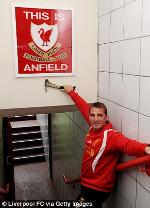 Future boy: Rodgers is hoping to build a new dynasty at Anfield ...