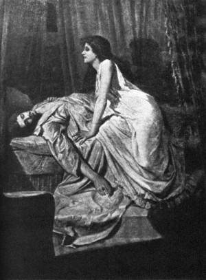 The Vampire (1897) by Philip Burne-Jones.