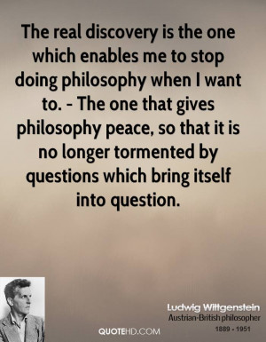 Ludwig Wittgenstein Quotes