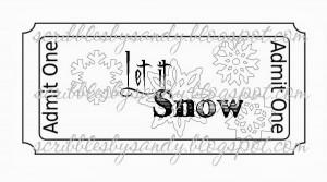 019 Let It Snow Quote ($1.00)