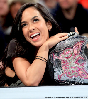 AJ Lee wwe Divas Champion