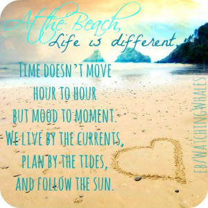 Peace at the Beach / quotes about the beach