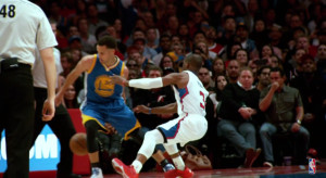 Chris Paul Crossover Stephen Curry