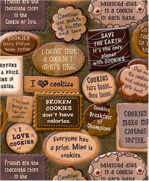 Quotes About Cookies | Cookie Sayings