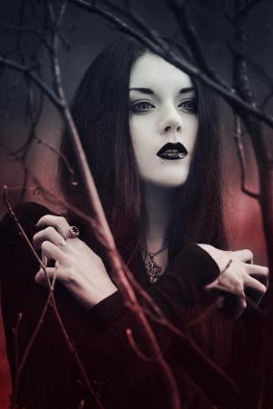 Gothic vampire style