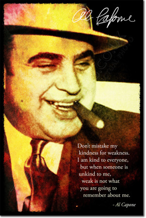 Details about AL CAPONE SIGNED ART PHOTO PRINT AUTOGRAPH POSTER GIFT ...