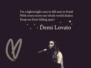 Demi Lovato Lightweight by Kaitlyn262