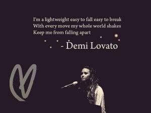 Demi Lovato Lightweight by Kaitlyn262