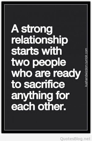 Strong relationship quote
