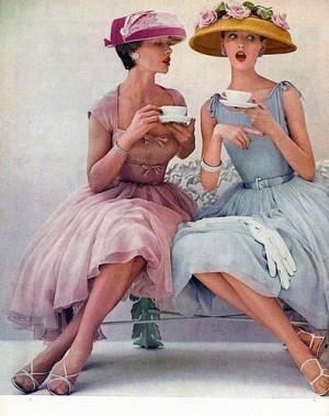 1950's ad photo via Pinterest