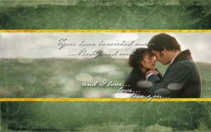 Pride and Prejudice Wallpaper by drkay85