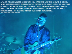BLUE OCTOBER Lyrics from Sound Of Pulling Heaven Down SONG QUOTE ...