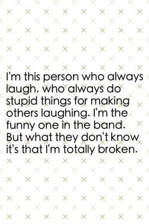 Broken Love Quotes Funny. QuotesGram