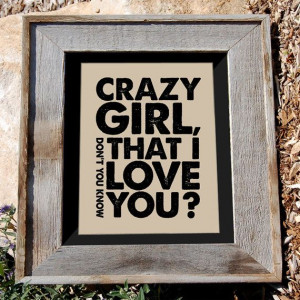 Eli Young quote print - country music song lyric art -