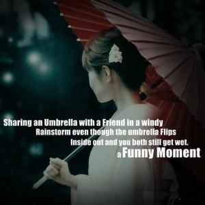 Funny Umbrella Quotes
