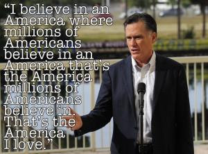 Actual Mitt Romney Quote