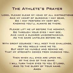 good prayer to pray before the game games athlete prayer games athlet ...