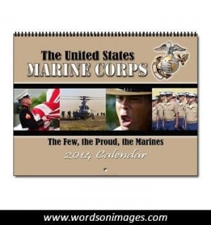 Famous Marine Quotes and Sayings
