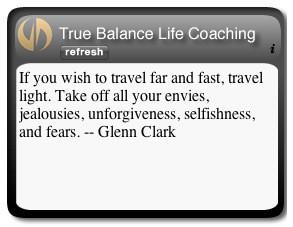 About True Balance Life Coaching