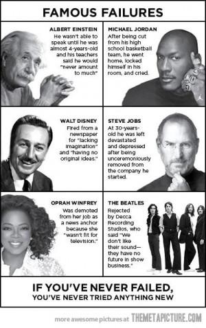 Wonderful Poster on Failure