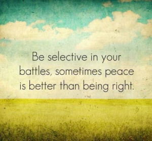 nice quote. i am for peace