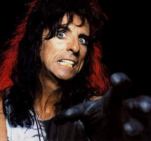 Inspirational Quote from Alice Cooper: Drinking beer is easy...