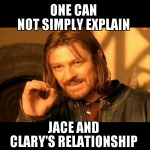 FINALLY a Boromir meme for TMI. I've been waiting so long for this ...