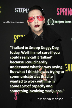 Marilyn Manson Quote