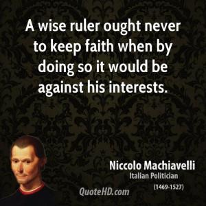 Machiavelli Quotes In Italian Clinic