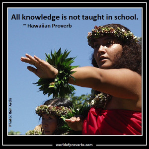 Hawaiian Proverb [15613]