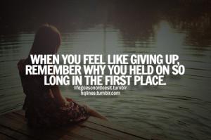 alone, give up, hqlines, life, love, miss, sad, think