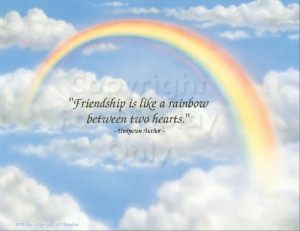 Quotes Images All Friendship Rainbow