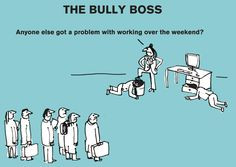 guide to bad bosses, by cult illustrators Modern Toss ...