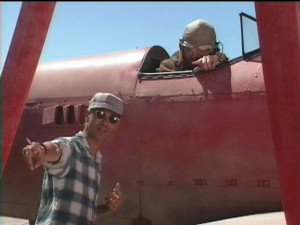 ... , Randy Quaid, behind the scenes photo from