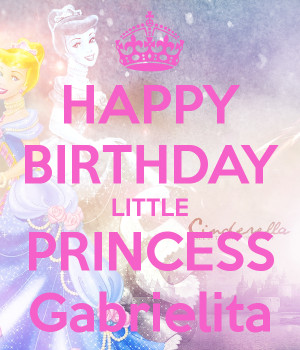 And Happy Birthday Princess