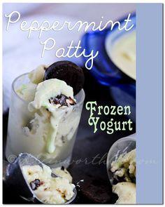 Peppermint Patty Frozen Yogurt from Kleinworth & Co.